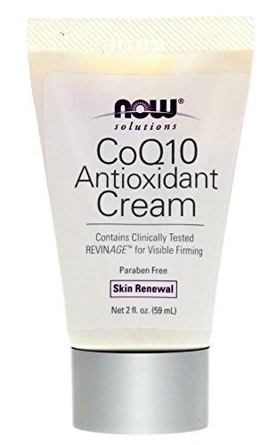 Now Foods, Solutions, CoQ10 Antioxidant Cream, 2 fl oz (59 ml)
