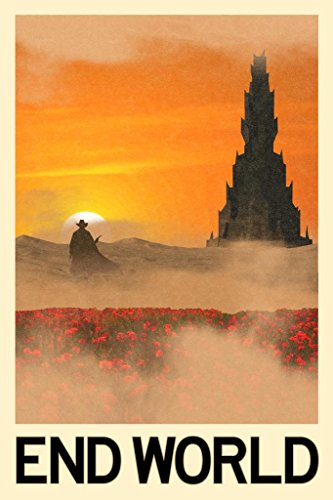 End World Fantasy Travel Poster 24x36 inch