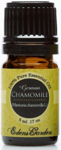 Ромашка (немецкий) 100% Pure терапевтической степени чистоты Эфирное масло 5 мл