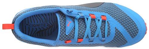 Puma 188579, Zapatillas de Running Hombre Azul (atomic blue-black-red blast 01)