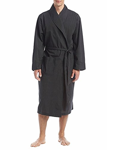 - Hanes Size Tall Men's Woven Shawl Collar Robe, Black, Extra Large Tall/2 Extra Large Tall