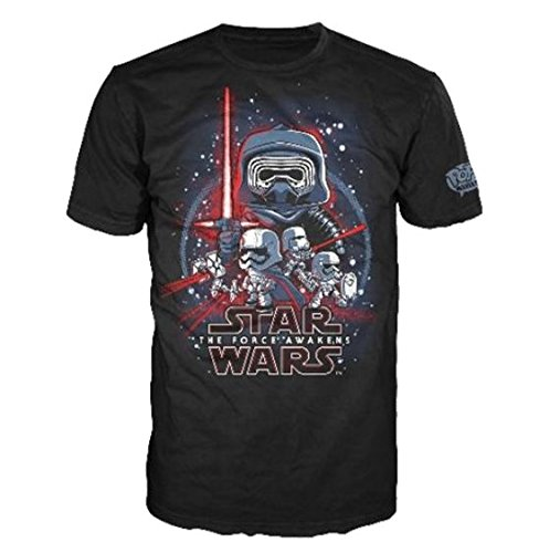 824a3e01 Funko Men's Pop! T-Shirts: Star Wars Ep 7 - Force Awakens,