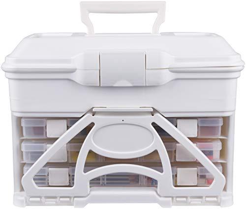 Super Satchel Cube - ArtBin 6994AB Art Furniture and Storage, White