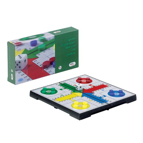 - Foldable Parcheesi Board Game