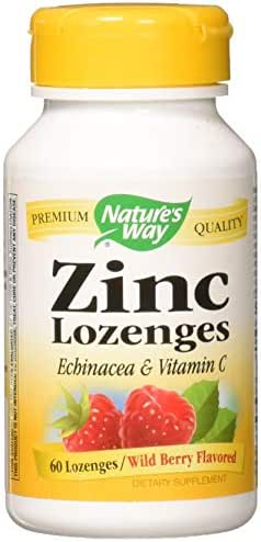 Nature's Way Zinc Natural Berry - 60 Lozenges