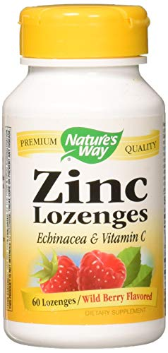 Nature's Way Zinc Natural Berry - 60 Lozenges