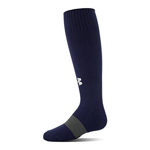 Under Armour Boys' Soccer Over The Calf Socks, 1-Pair, Midnight Navy, Shoe Size: Youth 13.5K-4Y