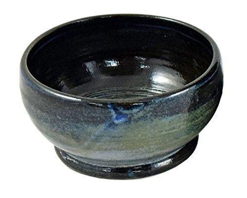 Executive Shaving Handmade Ocean Twilight Stoneware Shaving Lathering Up Bowl
