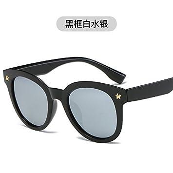 LLZTYJ Gafas De Sol/Gafas De Sol Para Hombre Cara Redonda De ...