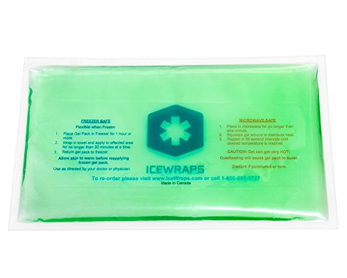 icewraps-green-6x10-soft-ice-gel-pack-reusable-hot-or-cold-pack-for-pain-relief-first-aid-cooler-war