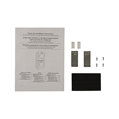 Whirlpool W10761316 Laundry Appliance Stacking Kit Genuine Original Equipment Manufacturer (OEM) part for Whirlpool