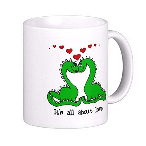 It's All About Love Dinosaur Coffee Mugs-11OZ Coffee Mug