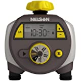2 Pack - Nelson Dual Programmed Outlet Hose Faucet Water Timer