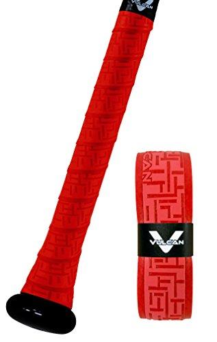 Vulcan 0.50mm Bat Grip/Bright Red
