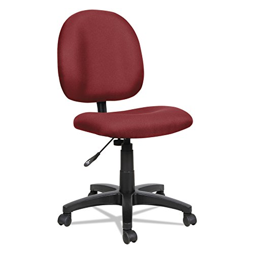 Alera ALEVT48FA30B Essentia Series Swivel Task Chair, Acrylic, Burgundy - Swivel Burgundy Task Chair