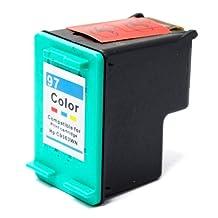 SaveOnMany ® HP 97 HP97 C9363WN Tri-color Compatible Remanufactured Ink Cartridge For Designjet 5940/ Deskjet 6540,6620,6830,6840,6980,6988 9800/ OfficeJet 6200,6210,7200,7210,7300,H470/ Photosmart B8338,B8350,B8353/ PSC 1600 etc