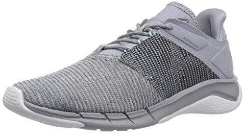 Reebok Women's Fast Flexweave Running Shoe, Cool Shadow/Porcelain Lagoon/White/Blue, 10 M US
