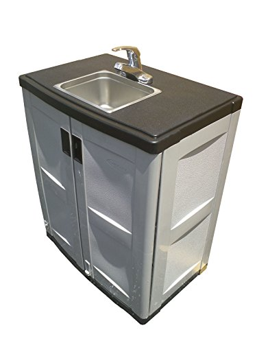 Portable Sink Self Contained Hand Wash Station with Cold and Hot Water