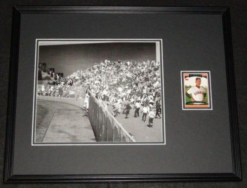 Felipe Alou 1962 World Series Signed Framed 16x20 Photo Display Giants