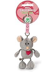 NICI 37388 - Myszka Talisminis Sweet Love, 7 cm, Breloczek do kluczy Bean Bag