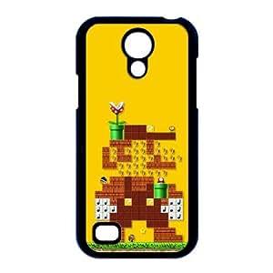 Súper Mario Maker caso i9190 X8M22W1RK funda Samsung Galaxy S4 Mini funda P4S5CB negro