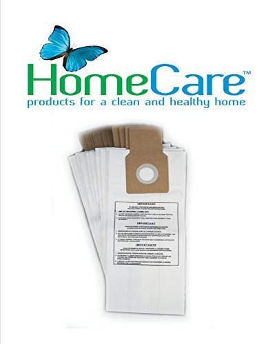 Kenmore U, L, O & 5068 Synthetic Micro Filtration Bags by Home Care Products, 10 bags - 50688, 50690, 50105 - 50688 Micro Filtration Vacuum Bags