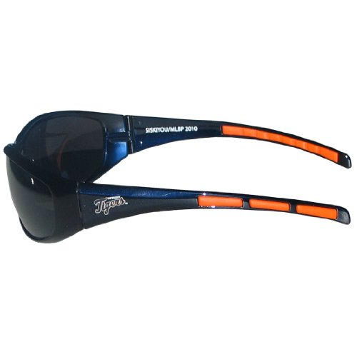 MLB Detroit Tigers 3-Dot Wrap - Hat Baseball Sunglasses