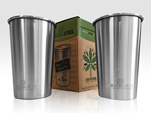 20oz Stainless Steel Cups Pack product image