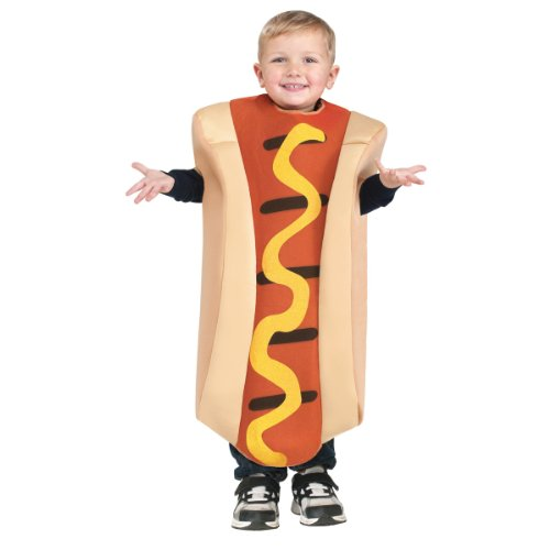 (Hot Dog Toddler Costume)