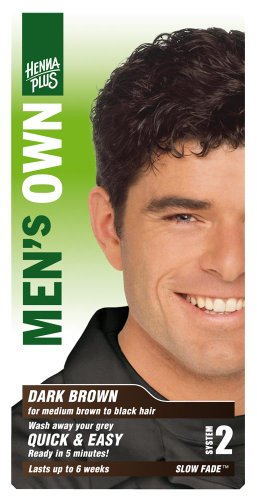 Henna Plus - Men's Own Dark Brown - 3.8 oz. - Professional Henna