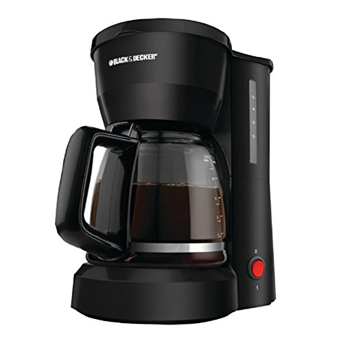 Ap Exit 9 5-Cup Drip Coffeemaker with Glass Carafe, Black (Nutribullet As Seen On Tv)