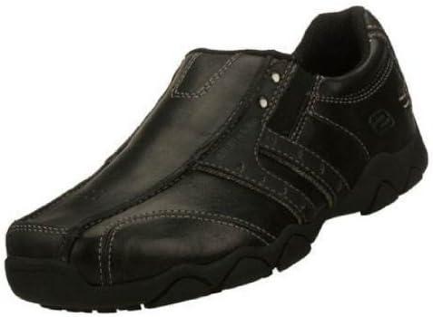 Skechers New Boys Leather School Shoes