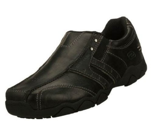 New! Skechers Boys Leather School Shoes