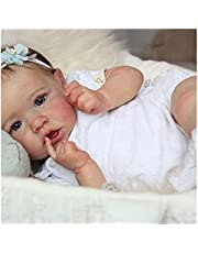 Newborn Baby Dolls, 22 inch Rebirth Doll, PVC Free Reborn Silicone - for Girls and Children