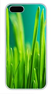 Grass 3 case mate iphone 5S covers PC White for Apple iPhone 5/5S by Maris's Diary