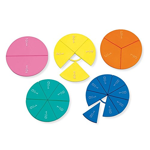 - hand2mind Connecting Plastic Fraction Circles (Set of 23)