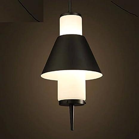 Espacio de luz nórdica artes IKEA Loft Restaurant Cristal Lámparas de araña lámpara de araña de
