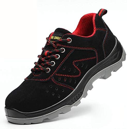 作業靴 電気絶縁滑り止めアイアンファイリングメンズ労働保険靴、皮脂防止、匂い防止、粉砕防止、ピアス防止、古い安全靴 安全靴 (色 : G g, サイズ さいず : 44)