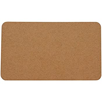 Amazon fecedy 100pcs blank kraft paper business cards word mr label blank business cards for flashcards word message playing place diy gift cards 200 pieces kraft reheart Images