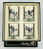 4pc Waterfowl; Double Old Fashioned; 14oz Glasses