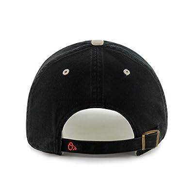 MLB Baltimore Orioles Ice Adjustable Hat, One Size, Black