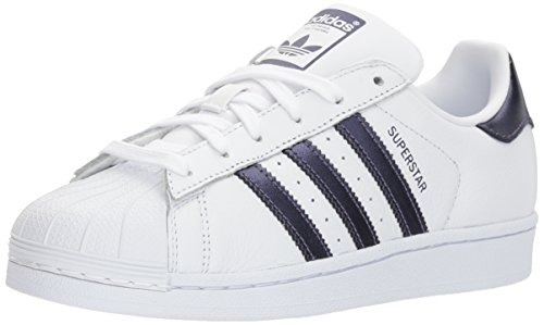 Adidas Trainers Womens White Night Leather Purple Superstar White rtrwZpqgv