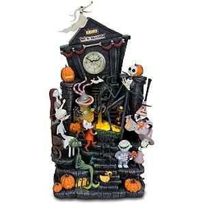disney tim burtons the nightmare before christmas clock