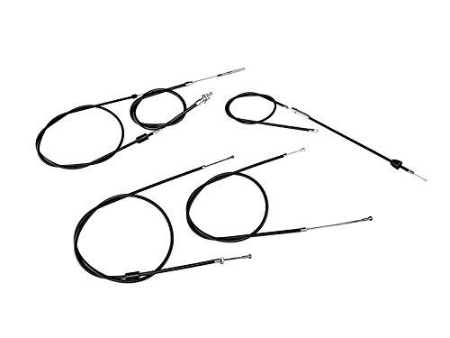 Bowdenzug-Set in Schwarz fü r SR50