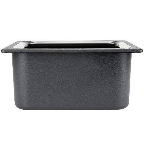 TableTop King CM110103 Coldmaster 1/2 Size Black Cold Food Pan - 6