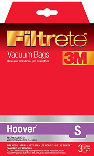 Electrolux Home Care 64705A Hoover R30 Allergen Bag,3 bags per package