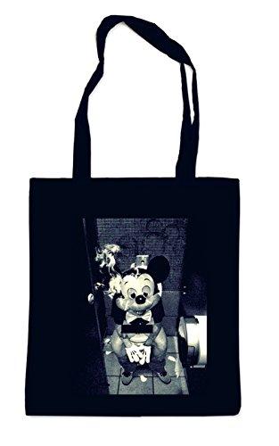 Toilet Mouse Bag Black