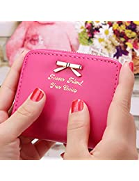 Tivolii Women's Wallet Mini Coin Purse Cute Clutch Small Card Package Trend Bag Best Gift for Ladies Girls