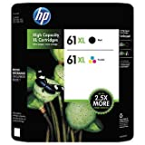 DealsRight Compatible Ink Cartridge Replacement for HP 61xl ( Black,Cyan,Magenta,Yellow)