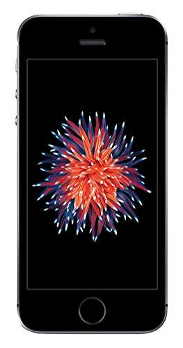 Apple iPhone SE Smartphone (4 Zoll (10,2 cm) Touch-Display, 16 GB Speicher, IOS) spacegrau